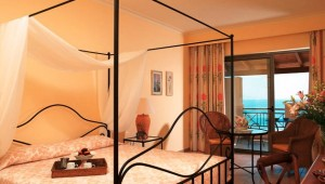 GRECOTEL Olympia Oasis Familienzimmer mit Balkon und tollem Meerblick