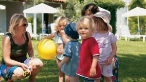 GRECOTEL Pella Beach Kinderanimation und liebevolle Kinderbetreuung