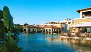 GRECOTEL Kos Imperial Thalasso Lagune mit Restaurant im Haupthaus