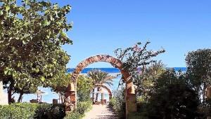 CLUB CALIMERA Habiba Beach schöner Garten mit direktem Zugang zum Meer
