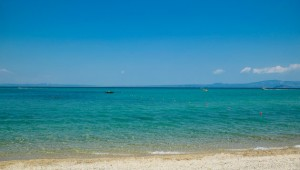 GRECOTEL Pella Beach wunderschöner Strand und türkisblaues Meer