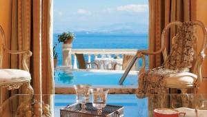 GRECOTEL Corfu Imperial Lounge im Palazzo mit Balkon und direktem Meerblick