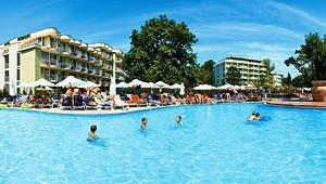 CLUB CALIMERA Sunny Beach große Poolanlage mit Wohnbungalows