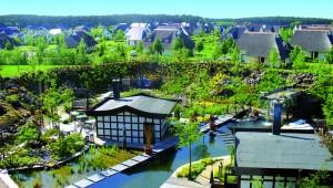 FUN CLUB Van der Valk Resort Linstow Übersicht Anlage & Saunalandschaft