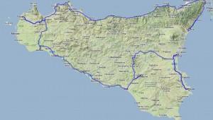 Sizilien Rundreise Route und Reiseverlauf der wunderschönen Rundreise