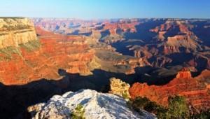 Rundreise USA Westküste Überblick über die Schlucht des Grand Canyon