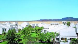 FUN Club RIU Oliva Resort Überblick über die Clubanlage und die Landschaft