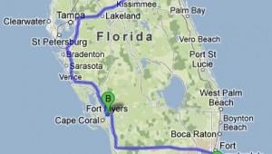 Rundreise New York Florida Route von New York nach Orlando Fort Myers und Miami