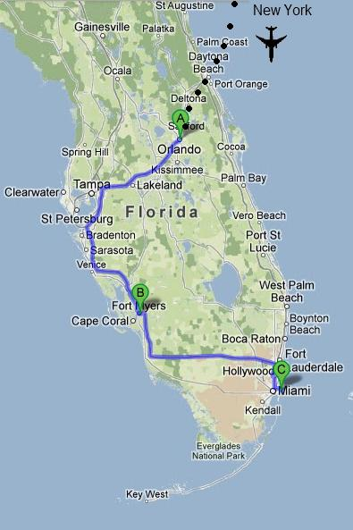 Fort Myers Florida To West Palm Beach