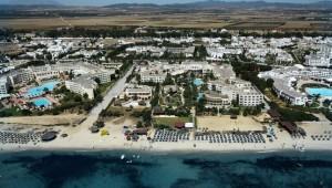 CLUB MAGIC LIFE Africana Imperial Übersicht über die Anlage direkt am Strand
