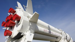 Rundreise New York Florida NASA Rakete im Kennedy Space Center in Cape Canaveral