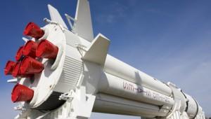 Rundreise New York Florida NASA Rakete im Kennedy Space Center in Cape Canaveral