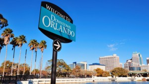 Florida Rundreise Willkommen in Downtown Orlando Florida