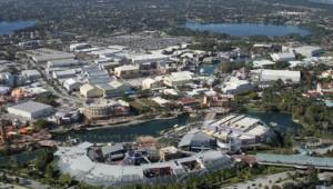 Rundreise New York Florida Übersicht über das Gelände der Universal Studios in Orlando