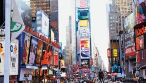 Rundreise New York Florida Times Square in New York City direkt am Broadway