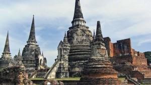 Thailand Rundreise Wat Phra Si Sanphet in Ayutthaya war ein ehemaliger königlicher Tempel