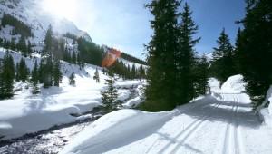 ROBINSON Club Alpenrose Zürs bietet sich besonders gut für alle Langläufer an
