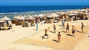 CLUB CALIMERA Akassia Swiss Resort Beachvolleyball spielen am Strand