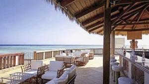 CLUB CALIMERA Habiba Beach Terrasse mit tollem Ausblick auf das Meer