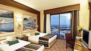 CLUB CALIMERA Kaya Side Doppelzimmer mit Balkon und tollem Ausblick auf das Meer