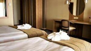 CLUB CALIMERA Kaya Side Modern eingerichtetes Doppelzimmer mit zwei Einzelbetten