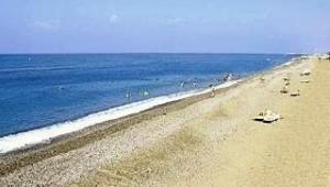 CLUB CALIMERA Serra Palace Ausblick auf den Strand und das glitzernde Meer