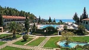 CLUB CALIMERA Simantro Beach Große Gartenanlage mit direktem Meerblick