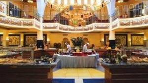 CLUB CALIMERA Simantro Beach Restaurant mit vielfältigem und leckerem Buffet