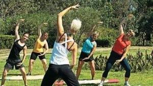 CLUB CALIMERA Simantro Beach Sportprogramm und Yoga in der Gartenanlage