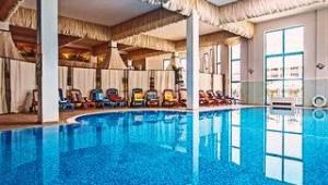 CLUB CALIMERA Sunny Beach beheizbares großes Hallenbad im Wellnessbereich