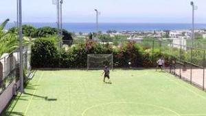 CLUB CALIMERA Sunshine Kreta Spielen Sie mit anderen Gästen auf dem Sportplatz