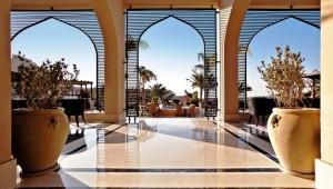 CLUB MAGIC LIFE Kalawy Imperial Terrasse mit Blick über die Anlage