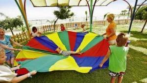 FUN CLUB Aquis Sandy Beach Resort Kinderanimation im Kids Club