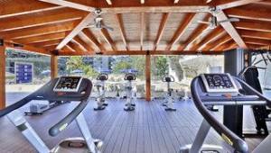 FUN CLUB Barcelo Margaritas Park Fitnessgeräte in der schönen Gartenanlage
