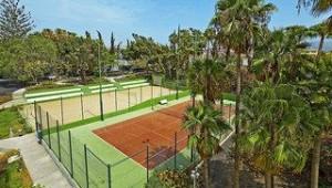FUN CLUB Barcelo Margaritas Park Tennisanlage mit Gummihartplatz