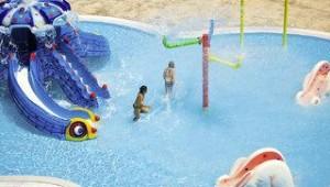 FUN CLUB Kipriotis Panorama Aqualand Wasserpark mit Rutschen für Kinder