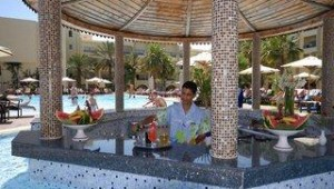FUN CLUB Paradis Palace Poolbar mit frischen Cocktails im Pool