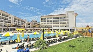 FUN CLUB Seher Sun Palace Resort & Spa Blick auf das Hauptgebäude