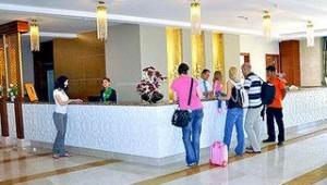 FUN CLUB Seher Sun Palace Resort & Spa Rezeption und Eingangshalle