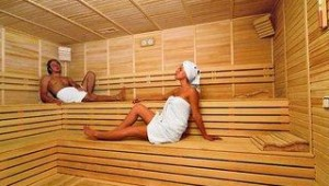 FUN CLUB Seher Sun Palace Resort & Spa Sauna im Wellness- und Spa-Bereich