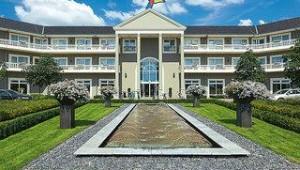 FUN CLUB Van der Valk Resort Linstow Eingang zum Hauptgebäude