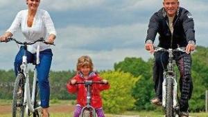 FUN CLUB Van der Valk Resort Linstow Fahrradausflug mit der ganzen Familie