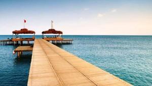 ROBINSON Club Nobilis Türkische Riviera und Steg mit tollem Ausblick