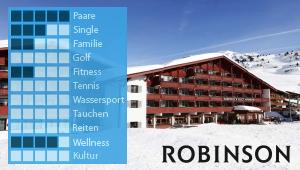 ROBINSON Club Alpenrose Zürs bei Diko Reisen, Ihr Reisebüro in Köln