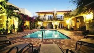 Florida Rundreise Grandview Gardens Bed & Breakfast mit einem tollen Innenhof