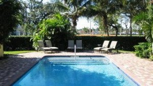 Florida Rundreise Grandview Gardens Bed & Breakfast mit Pool in der Gartenanlage