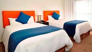 Rundreise Florida Melia Orlando Suite Hotel Doppelzimmer mit Gartenblick