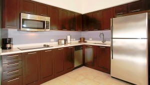 Rundreise Florida Melia Orlando Suite Hotel großzügige Küche