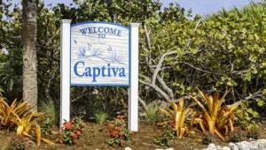 Rundreise Florida Willkommensschild auf Captiva Island