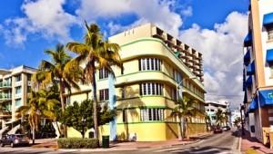 Rundreise Florida Weltberühmtes Art Deco Viertel von Miami Beach